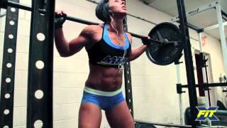 FEMALE PRO BODYBUILDER TAKES ON CrossFit - Dana Linn Bailey (Song: Fabolous - Breathe)