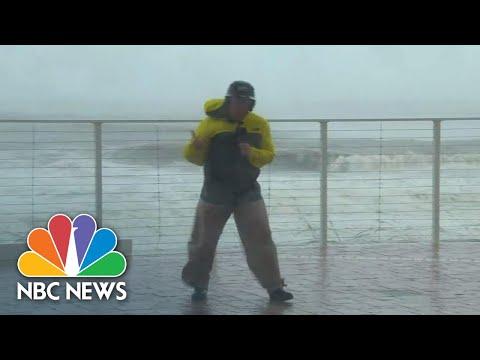 Eye Of Hurricane Michael Nears Panama City Beach | NBC News