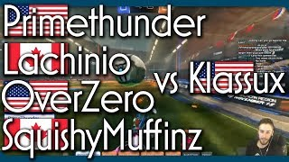 SquishyMuffinz, Lachinio, OverZero, Primethunder & Klassux | 1v4 Showmatch for $125