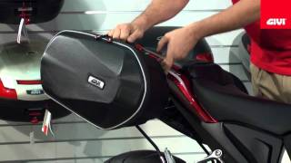 Givi Hybrid Easylock Side Bag System
