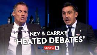 Gary Neville & Jamie Carragher's most 'HEATED DEBATES' 😉🍿