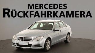 Mercedes Rückfahrkamera nachrüsten Hamburg  I  C-Klasse W204 I  Audio 20  I  Aps 50  I  Comand