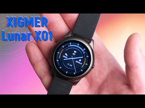 XIGMER Lunar X01 - доступные водонепроницаемые смарт часы (IP68) с Алиэкспресс