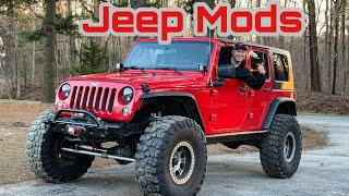Jeep Wrangler Mods for the Daily Driver