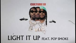 Kadr z teledysku Light It Up tekst piosenki Migos & Pop Smoke