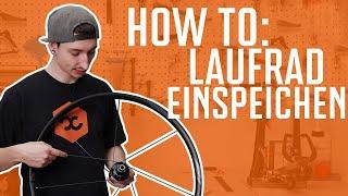 How To: Laufrad EINSPEICHEN   Abstand - Winkel - Kreuzung