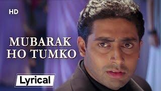 Mubarak Ho Tumko With Lyrics | मुबारक हो   - YouTube