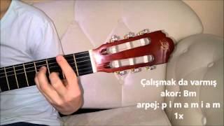Çatı Katı - Gökhan Türkmen (gitar)   Saz Kursu Solfej