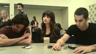 Teen Wolf - Tyler Posey, Crystal Reed And Dylan OBrien