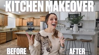 INSANE COMPLETE KITCHEN REMODEL | EXTREME KITCHEN MAKEOVER BEFORE AND AFTER REVEAL