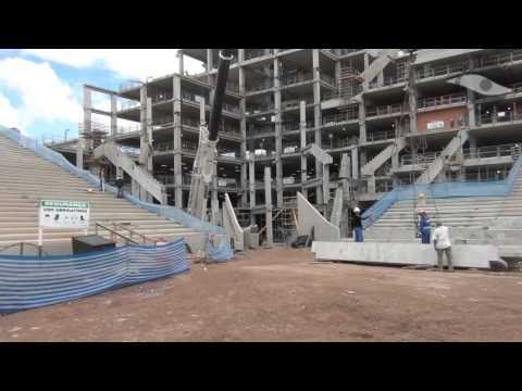 Por dentro da obra Arena Corinthians - 22/09/12