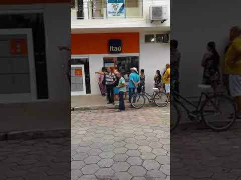 Sistema Inoperante deixa população revoltada com Banco Itaú em Aimorés/MG