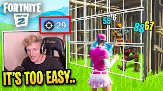 Tfue Makes Pro Players Look Like Bots in Fortnite Chapter 2...