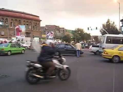 Iran 2013 Teheran Kreuzung