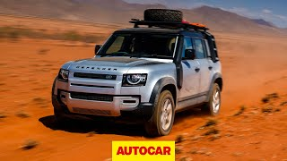 Land Rover Defender 2020 review   New Defender 110 SUV first drive   Autocar