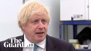 Boris Johnson: we should not support BLM protests 'likely to end in violence'