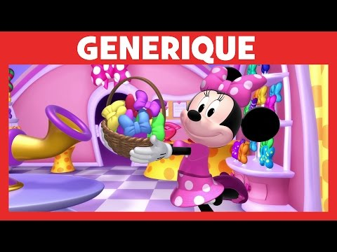 """générique """"La boutique de Minnie"""" chanté par Marie-Charlotte"""