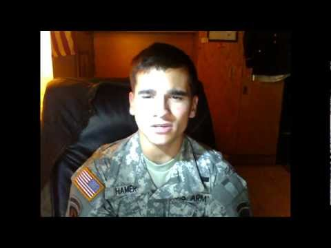 Soldier sings If Your Reading This, Tim Mcgraw Cover