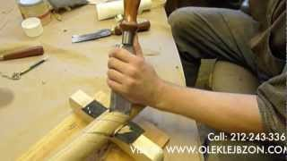 How To Carve A Wood Twisted Rope