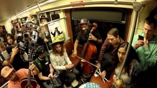 "Jon Foreman of Switchfoot ""Southbound Train"" - A Red Trolley Show (live performance)"