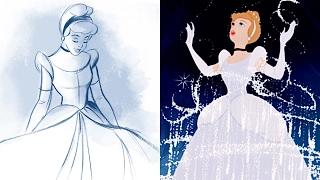 How To Draw Cinderella | Quick Draw | Disney LIVE