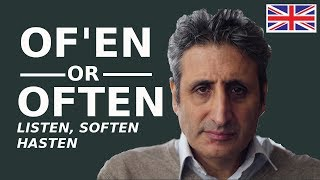 How To Pronounce Often And -ften -sten Words