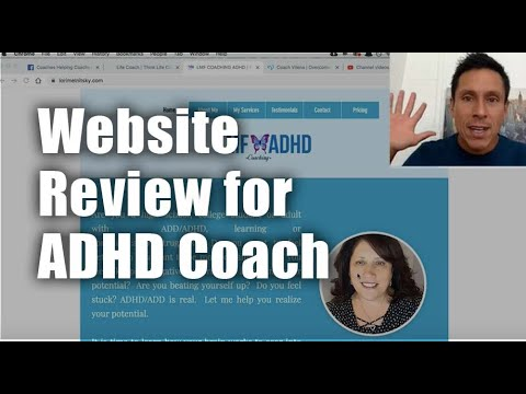 Website Review for ADHD Coach Lori