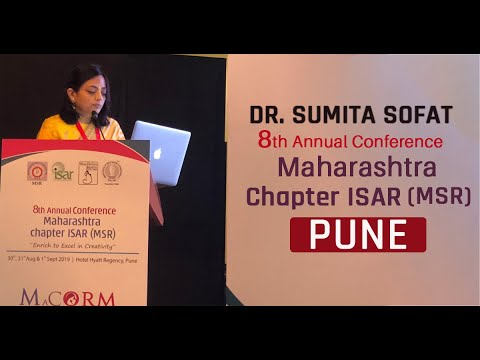 Dr.Sumita Sofat addressed 8th Annual Conference Maharastra Chapter ISAR(MSR) - Pune