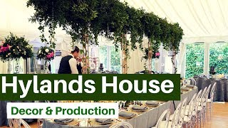Hylands House Wedding Video- Enchanted Forest Decor By The Designer Team