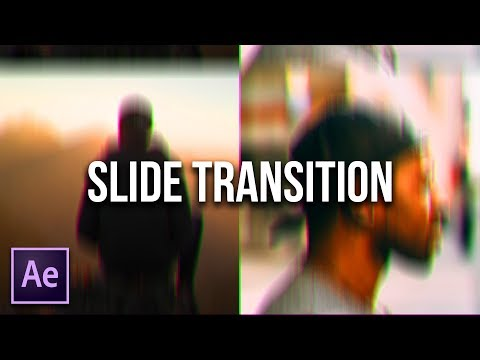 Smooth Slide Transition - After Effects - DrnkTea - Video - 4Gswap org