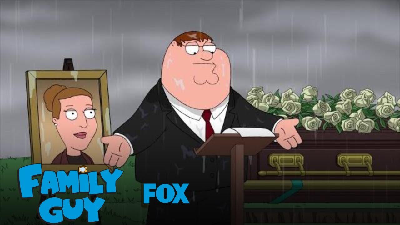 Peter Speaks At Angela's Funeral | Season 17 Ep. 9 | FAMILY GUY