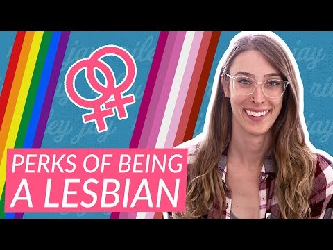 The BEST parts of being a lesbian 🌈🎉 | Riley J. Dennis