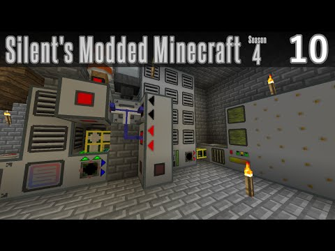 Silent's Modded Minecraft - S4E10 - Advanced Generators and Syngas