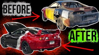 BUILDING A SUPRA IN 10 MINUTES *FOUND IN A FIELD....