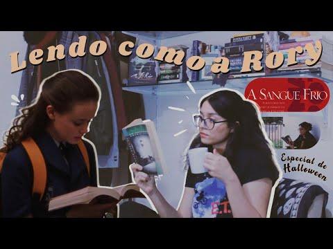 vlog de leitura // lendo como a rory gilmore: especial de halloween | 04