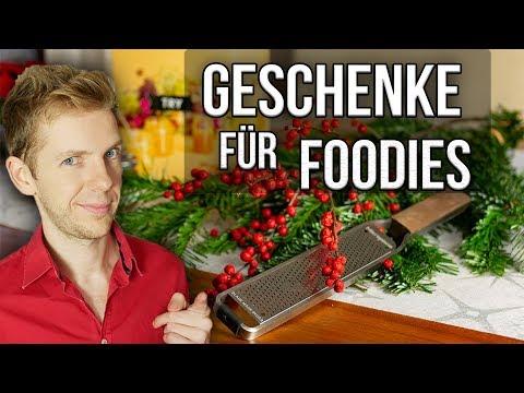 6 GESCHENKIDEEN für Weihnachten / Geschenke für Foodies