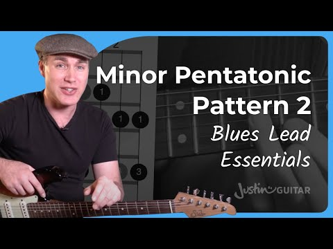 Minor Pentatonic Pattern 2 - Lead Guitar - Lesson 7 - Essential Blues Guitar Lessons [BL-407]