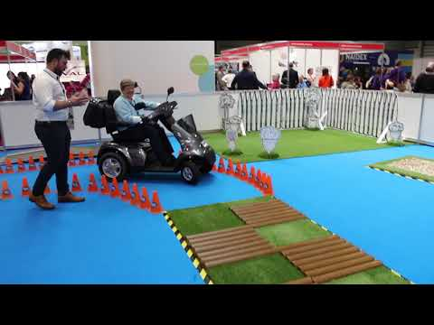TGA Mobility: Test Track at Naidex 2018 YouTube video thumbnail