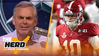 Reality setting in on Mac Jones, Justin Fields, Urban Meyer in Jacksonville — Colin | NFL | THE HERD