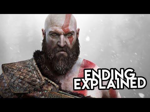 God of War 4 (2018) STORY & ENDING EXPLAINED