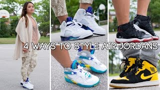 4 Ways To Style Air Jordans For Women