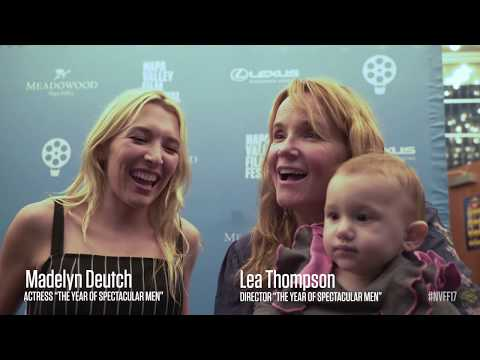Lea Thompson & Madelyn Deutch on the Red Carpet | The Year of Spectacular Men | NVFF17