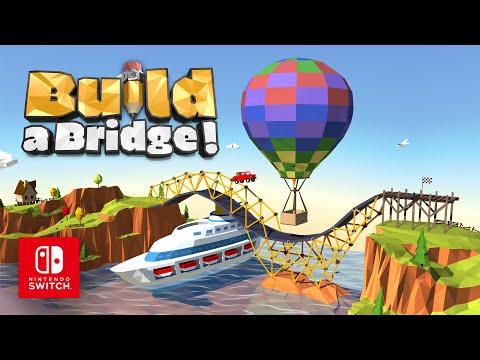 Build a Bridge! - Official Game Trailer - Nintendo Switch thumbnail