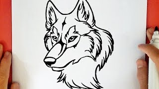 Como Dibujar Un Lobo Paso A Paso A Lapiz Faciles Videos