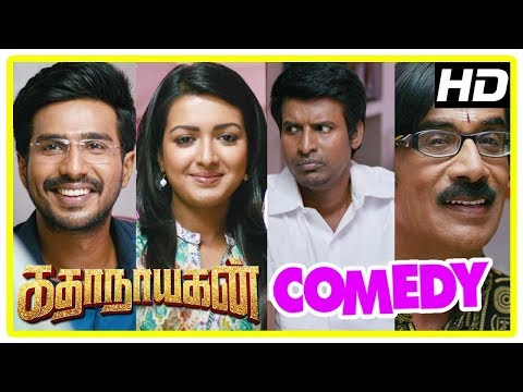 Katha Nayagan Movie Scenes | Vishnu and his family come to Catherine's house | Soori