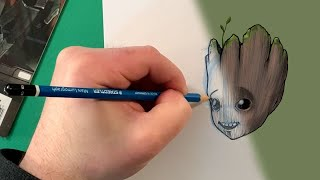 You Can Draw Baby Groot! | Marvel Draw!