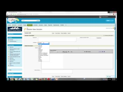 Getting the Most Out of Solutions and Cases in Salesforce - YouTube
