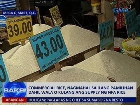 Saksi: Commercial rice, nagmahal sa ilang pamilihan dahil wala o kulang ang NFA rice