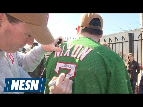 Trot Nixon Surprises Hard-Working Fans With '47 And Carhartt Gear