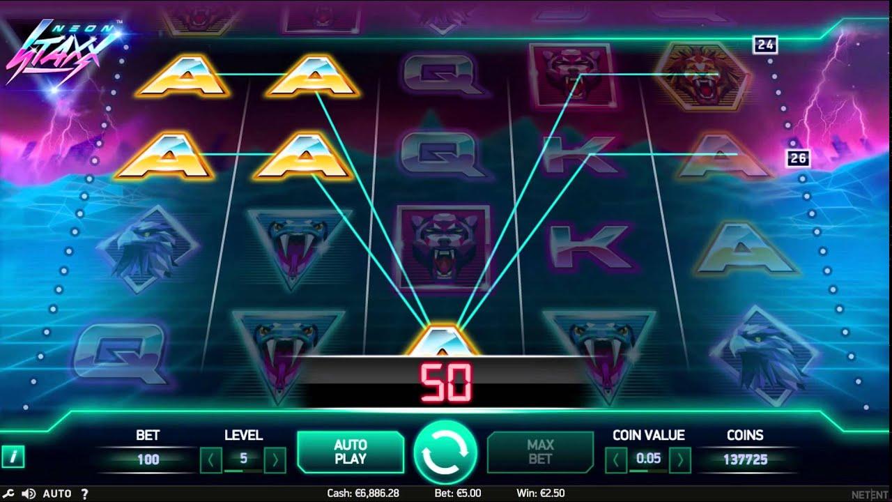 Auf der Kommandobrücke: Neon Staxx von NetEnt